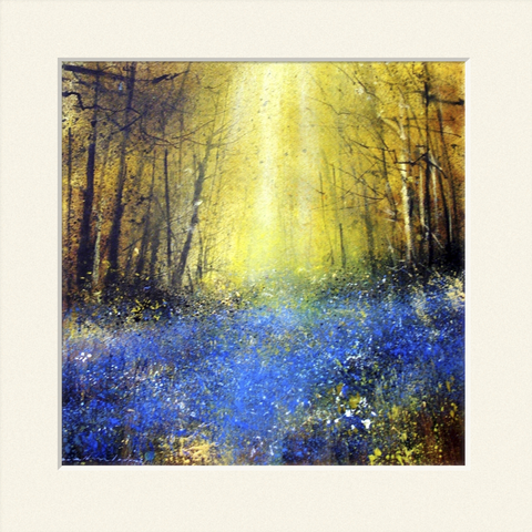 'Bluebells and Sunlight' print