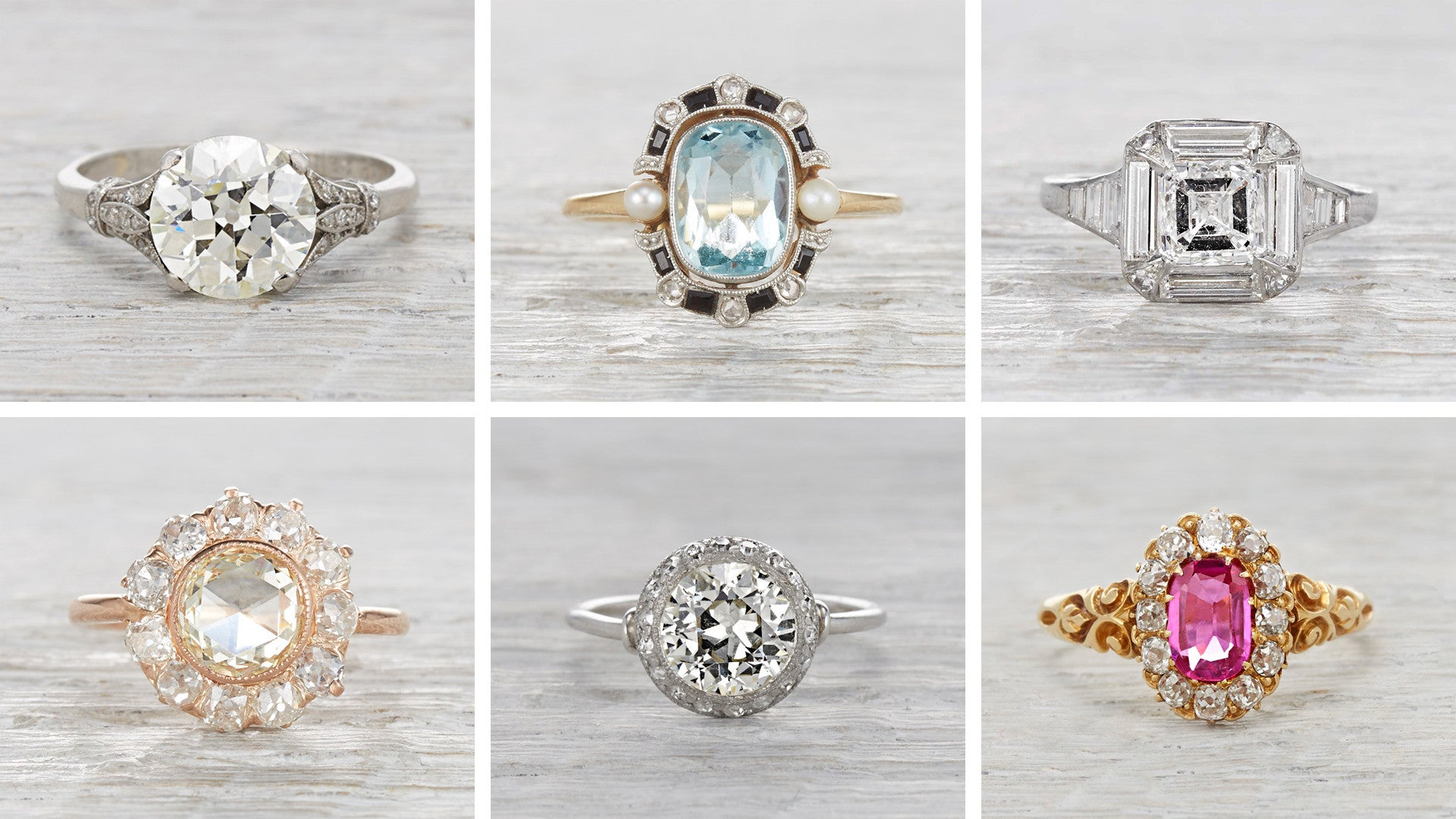 wedding promise engagement of vintage rings featured inspirations within photo diamond modern