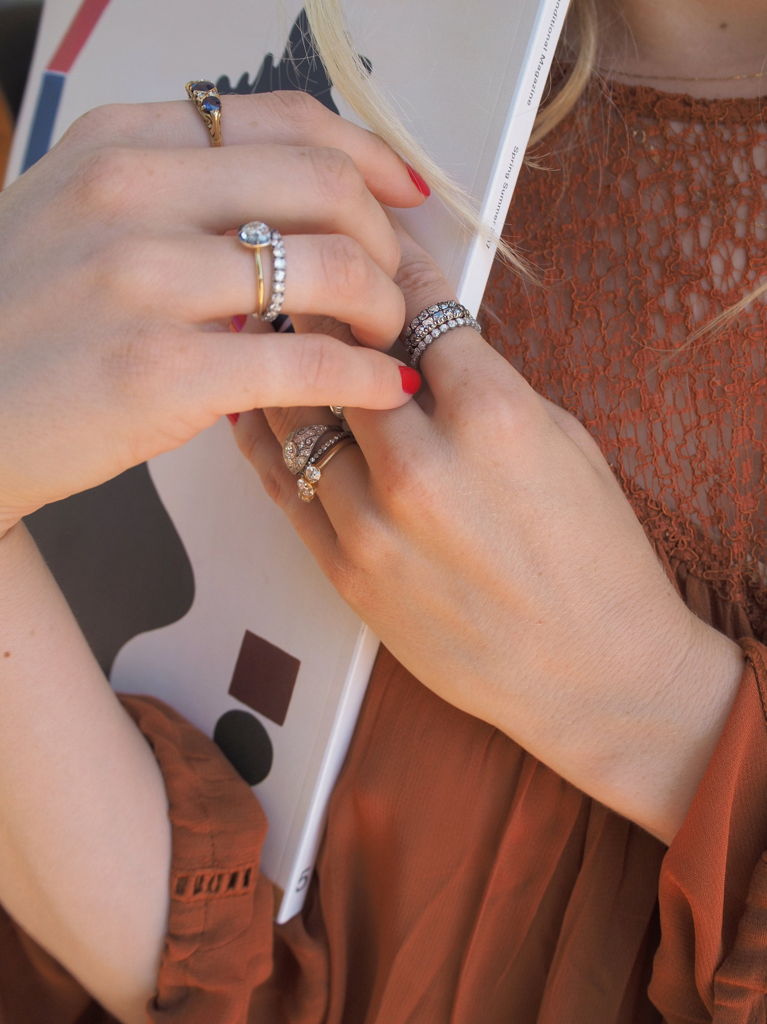 Mixing Vintage & By Erstwhile with Taylr Anne   Erstwhile Jewelry