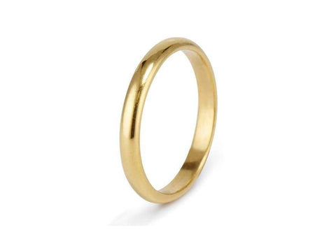 Golden Hoop - 3mm