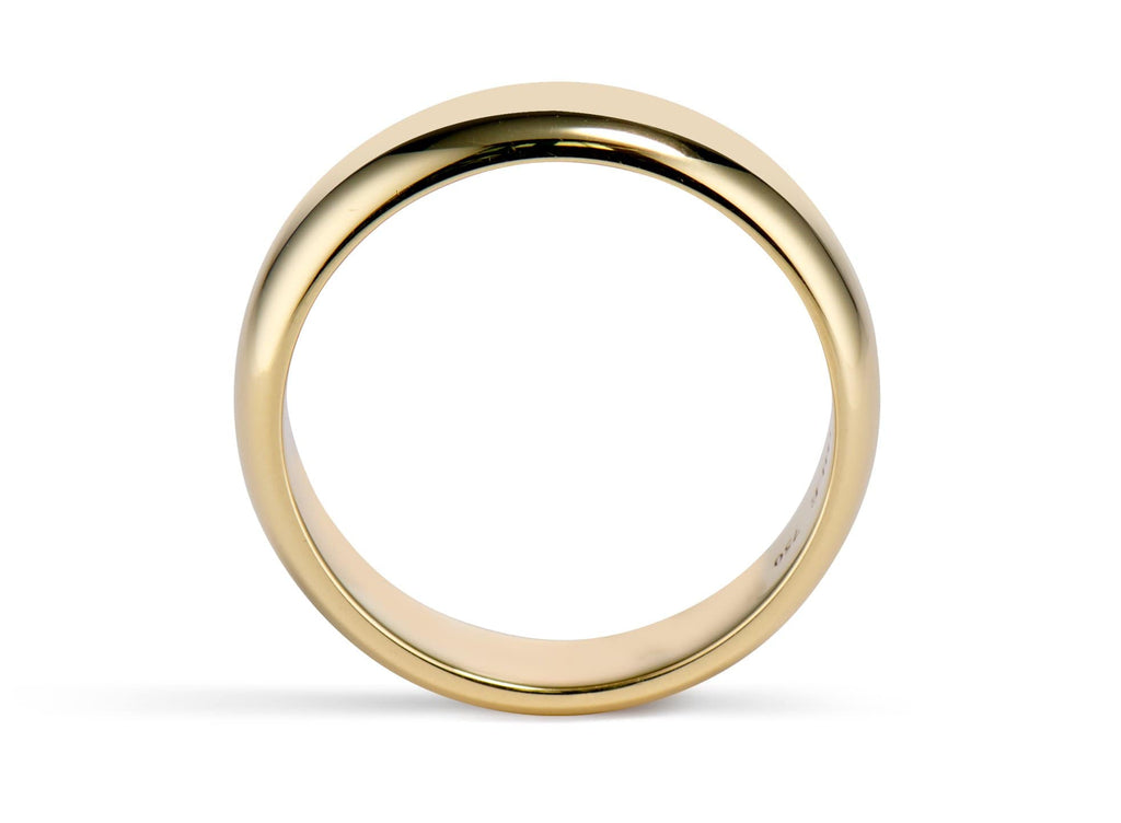 Golden Hoop - 6mm