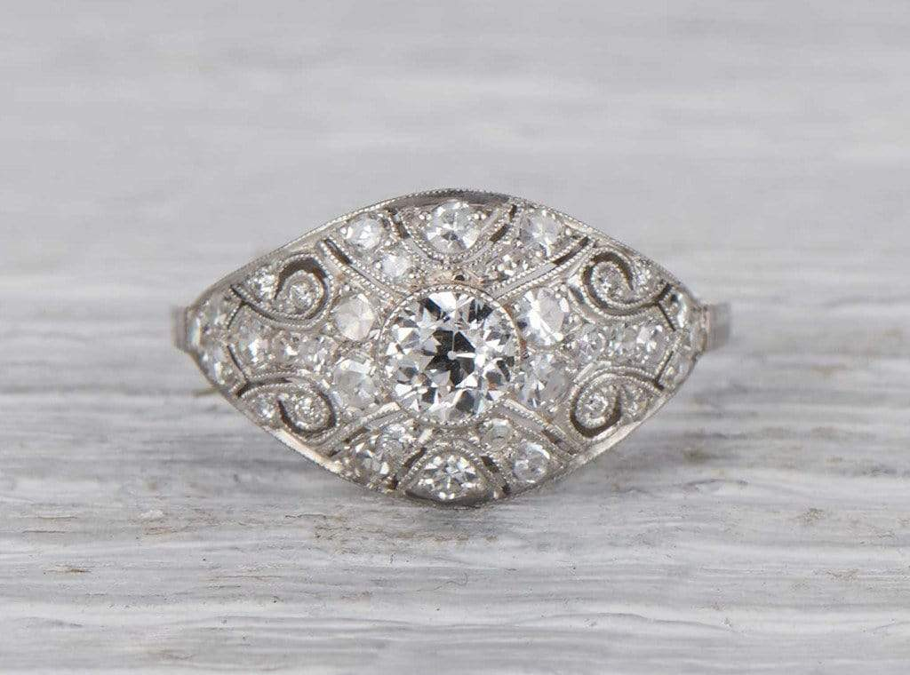 .30 Carat Edwardian Diamond Engagement Ring