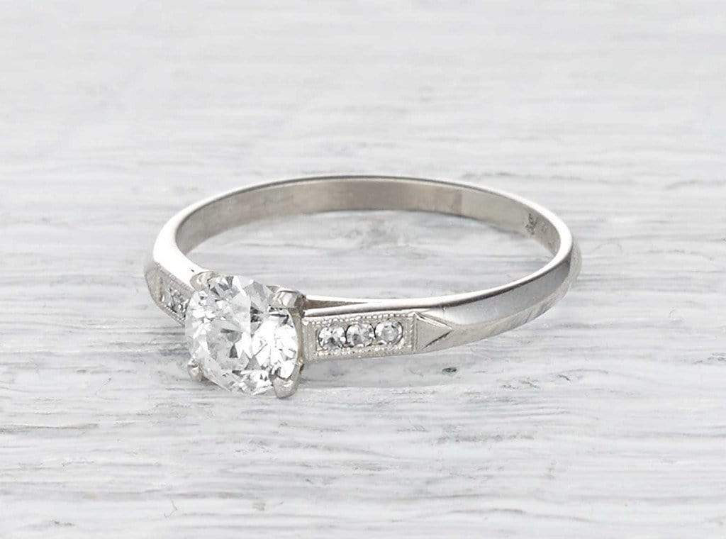 .53 Carat Art Deco Engagement Ring