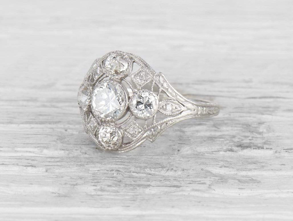 .54 CARAT ART DECO DIAMOND RING