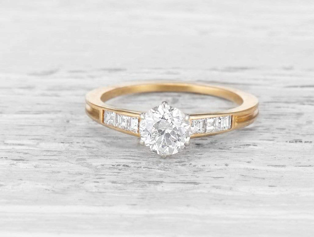 .75 CARAT TIFFANY & CO DIAMOND ENGAGEMENT RING