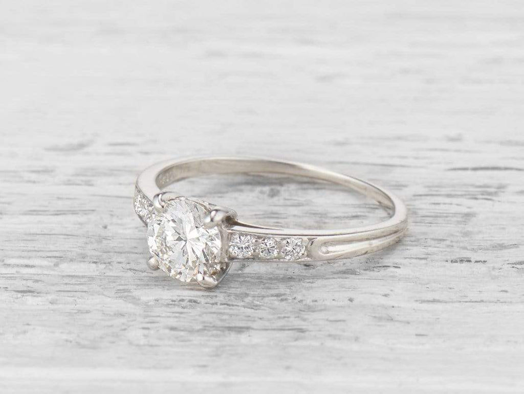 .80 CARAT TIFFANY & CO. DIAMOND ENGAGEMENT RING