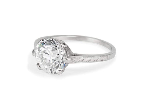 Dreicer & Co. Edwardian 2.12 Carat Old European Cut Diamond Solitaire