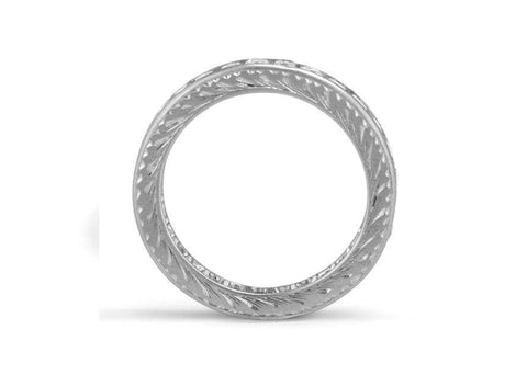2.10 Carat French Cut Diamond Eternity Band