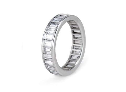 3 Carat Baguette Diamond Eternity Band