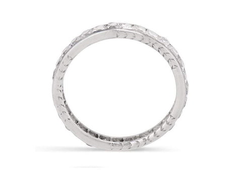Art Deco 3.00 Carat French Cut Diamond Eternity Band