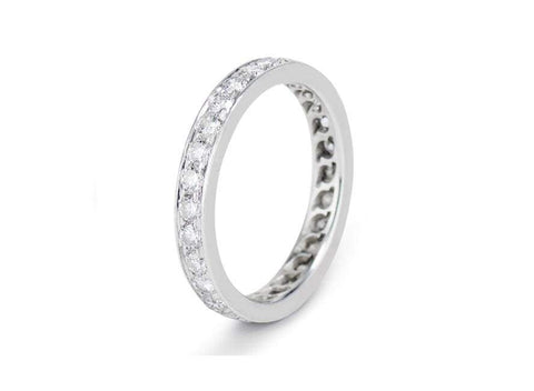 .84 Carat Brilliant Cut Diamond Eternity Band