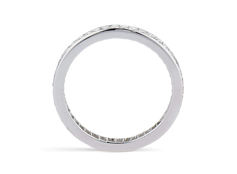 Art Deco 2.50 Carat French Cut Diamond Band