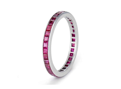 Tiffany & Co Ruby Eterntiy Band