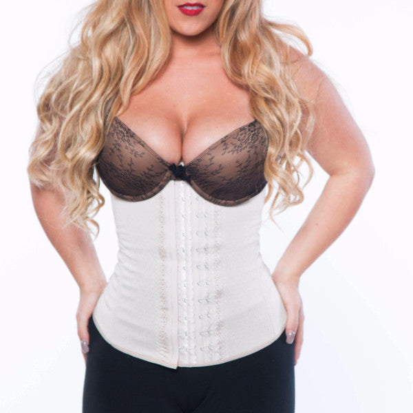 4 Hook Non Latex Cincher (Nude)