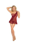 One Shoulder Lace babydoll