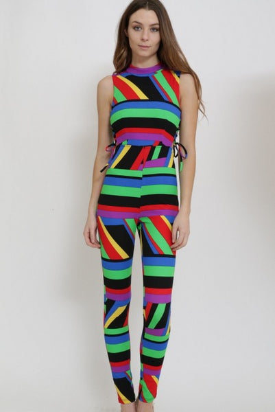 Multi Color Jumpsuit