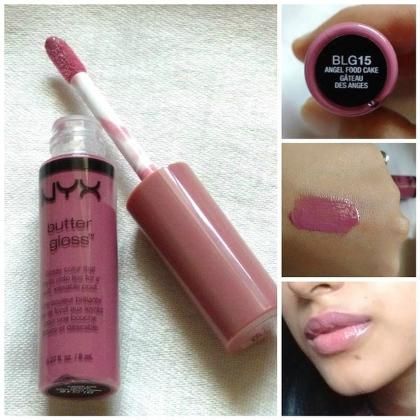 NYX BUTTER GLOSS - ANGEL FOOD CAKE