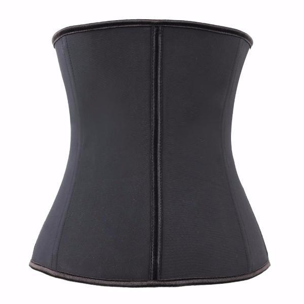 Latex Zip Up Cincher