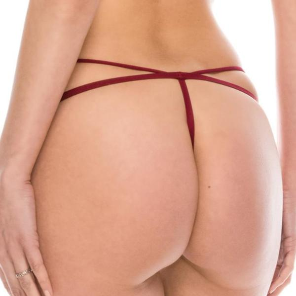 Cut Out String Panty