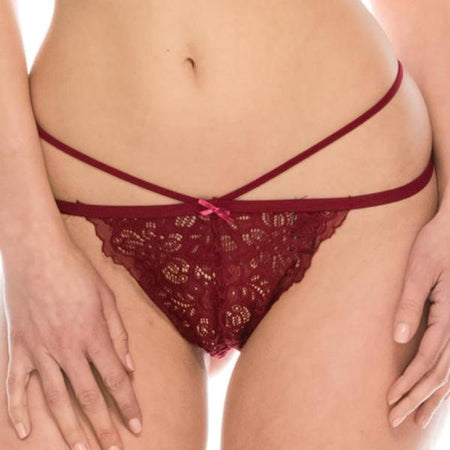 Lace Boy Short Panty
