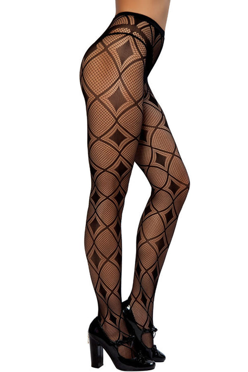 Diamond Line Stockings