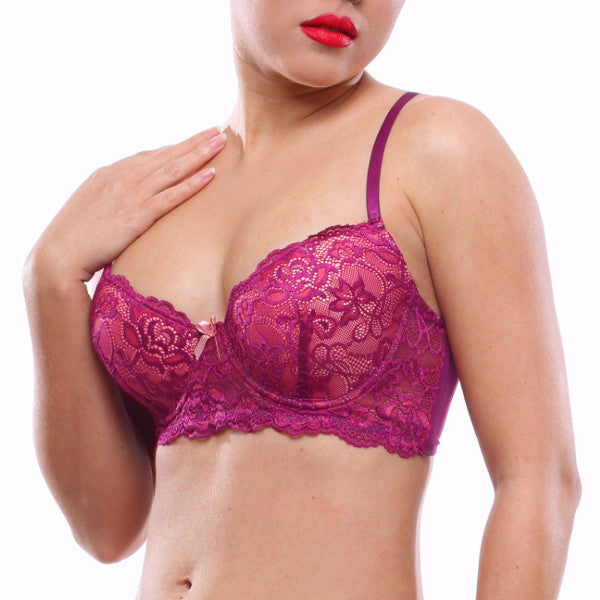 Rose Berry Bra