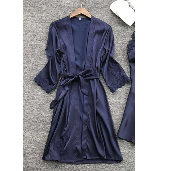 Silk Lace robe nightdress