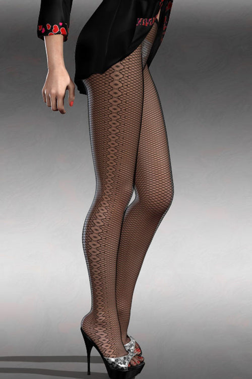 Fishnet Diamond Stockings