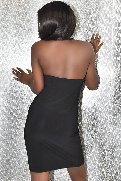 Diamond Halter Dress