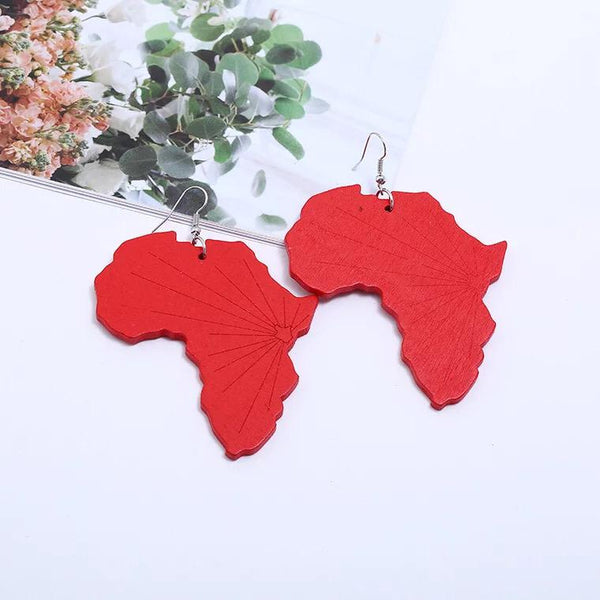 Earring SS1110 Red