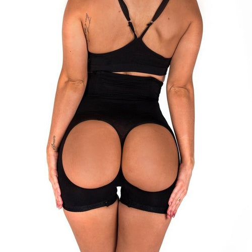 New Style High Waist Butt Lifter (Black)