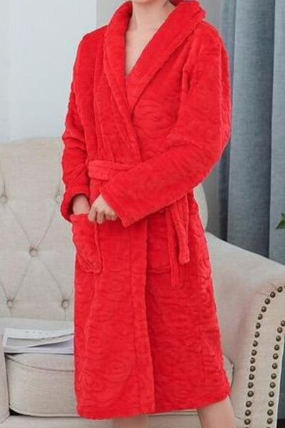 Plush Bath Robe