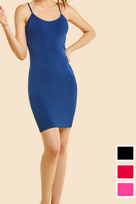 Blue Side Cut Bandage Dress