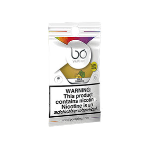 Bo Vaping Replacement Pods - Gold Tobacco Caps