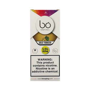 Bo Vaping - Gold Tobacco Replacement Pod