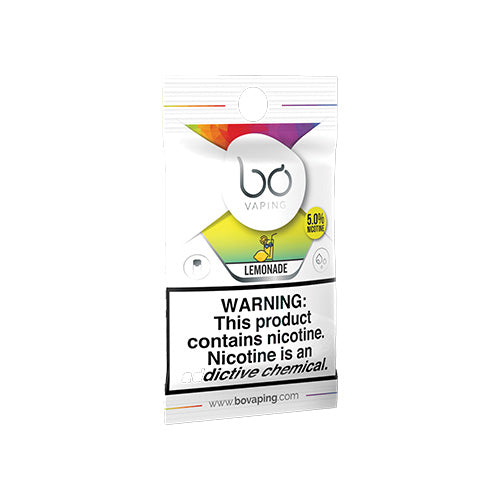 Bo Vaping Replacement Pods - Lemonade Caps