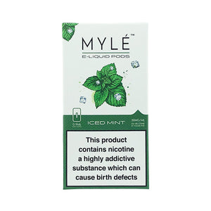 Myle - Iced Mint replacement pods