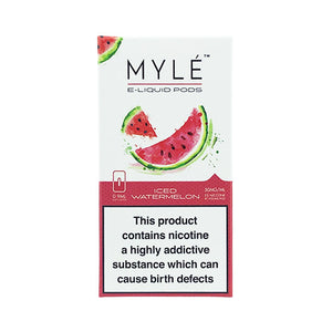 Myle - Iced Watermelon replacement pods
