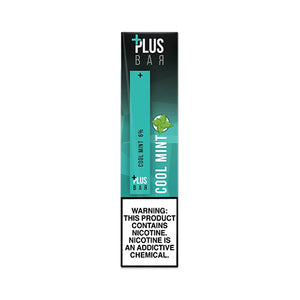 Plus Pods - Plus Bar - Cool Mint, disposable vape pod