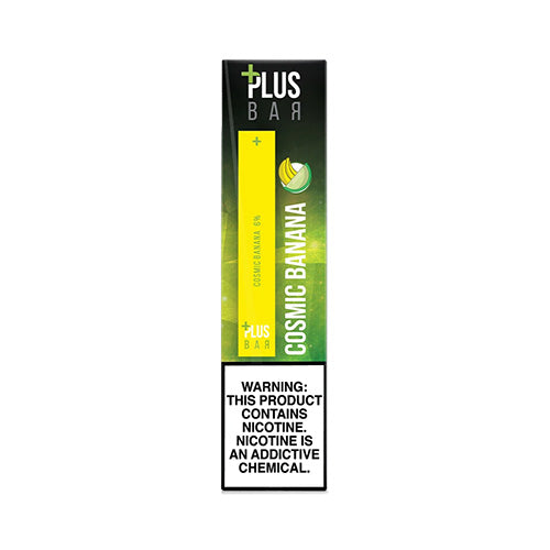 Plus Pods - Plus Bar - Cosmic Banana, disposable vape pod
