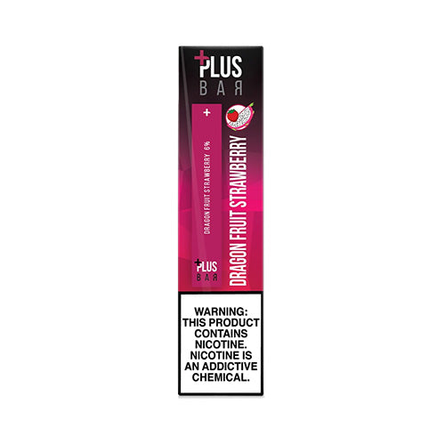 Plus Pods - Plus Bar - Dragon Fruit Strawberry, disposable vape