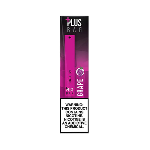 Plus Pods - Plus Bar - Grape, disposable vape pod