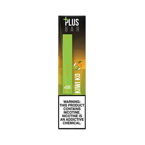 Plus Pods - Plus Bar - Kiwi Ko, disposable vape pod