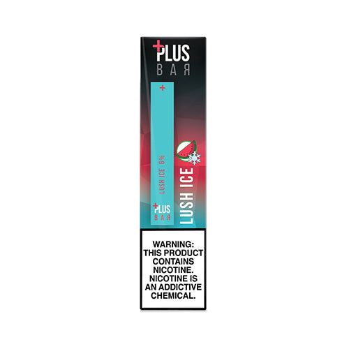 Plus Pods - Plus Bar - Lush Ice, disposable vape pod
