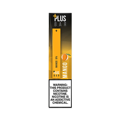 Plus Pods - Plus Bar - Mango, disposable vape