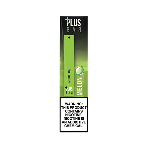 Plus Pods - Plus Bar - Melon, disposable vape pod