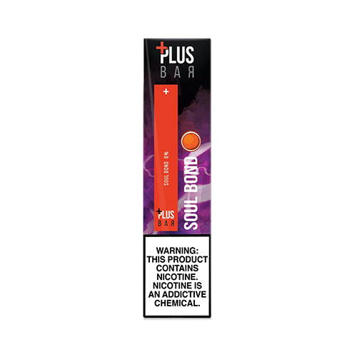 Plus Pods - Plus Bar - Soul Bond, disposable vape pod