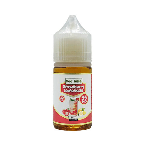 Pod Juice - Strawberry Lemonade, Nicotine Salt