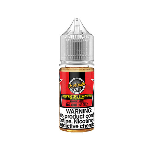 Vapetasia - Killer Custard Strawberry Salt, ejuice