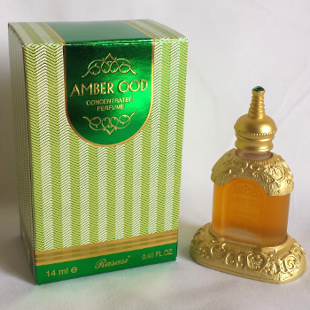 AMBER OOD by RASSASI  Arabian Attar, Itr Fragrance Oil 14 ML